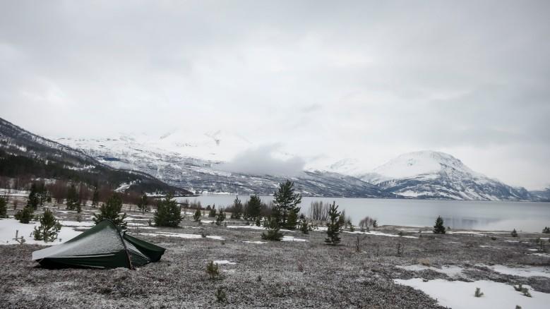 Leiripaikka Skibotnissa