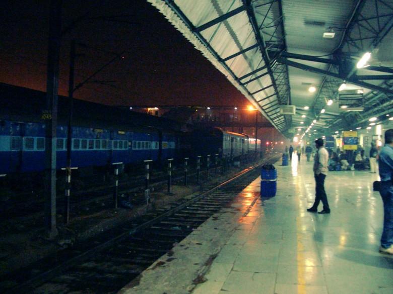 Rautatieasema, jossa tulivat kyyneleet silmiin