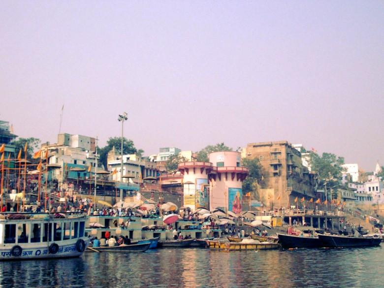 Varanasi, hindujen pyhä kaupunki.